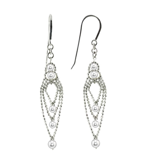 Imperial Lace Earring