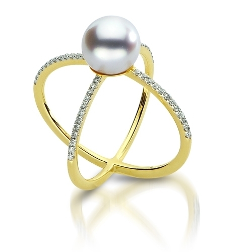 Imperial Pearl Accents Ring