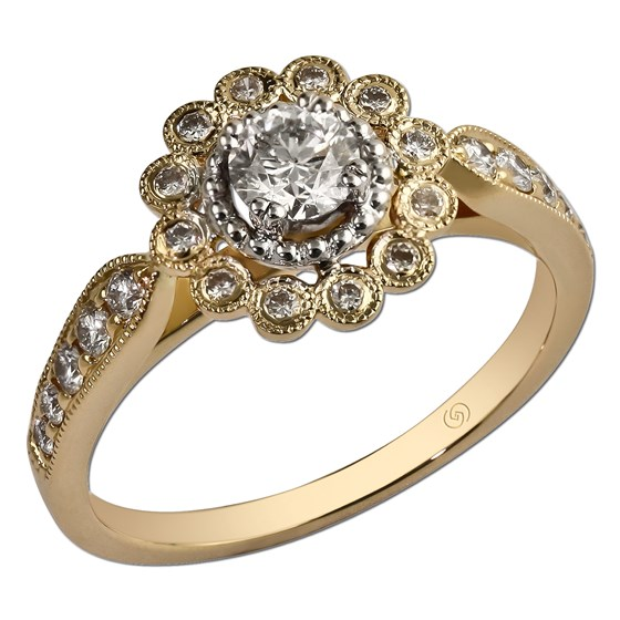 ust beginning Bridal Engagement Ring