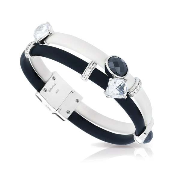 Venezia Black and white Bracelet