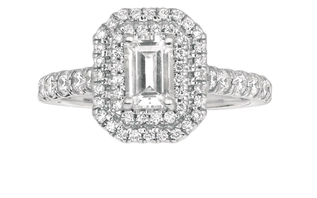 Spotlight on Martin Flyer Emerald Shape Engagement Rings