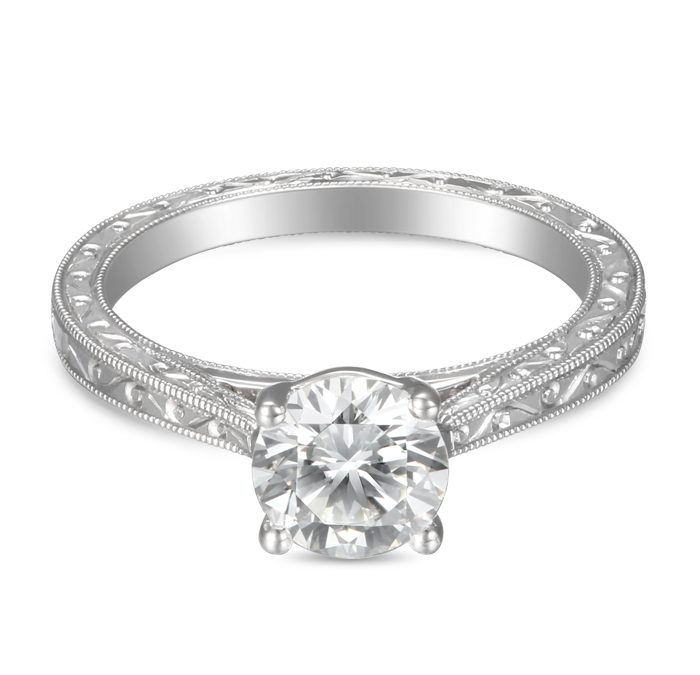 Spotlight on Martin Flyer Vintage Style Engagement Rings