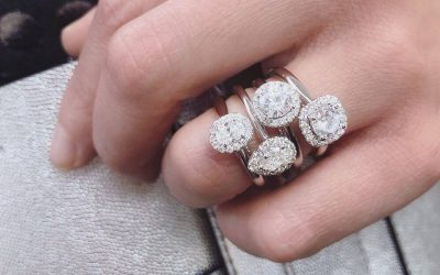 Spotlight on Martin Flyer Halo Engagement Rings