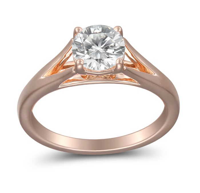 Our Favorite Martin Flyer Solitaire Engagement Rings
